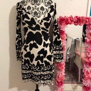 DVF Diane von furstenberg butterfly wrap dress